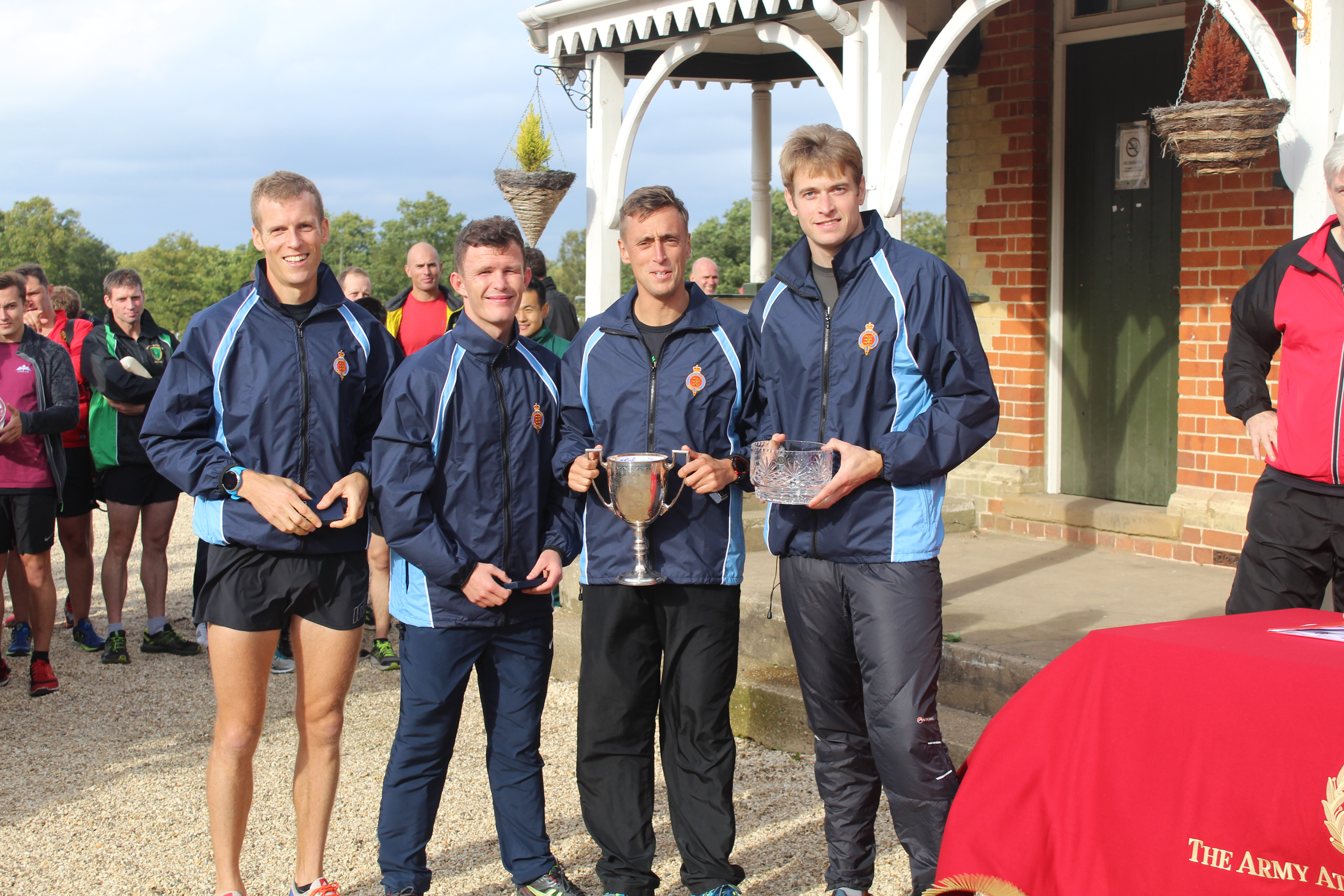 Army Inter-Unit Cross Country Relay Championships Weds 17 October 2018