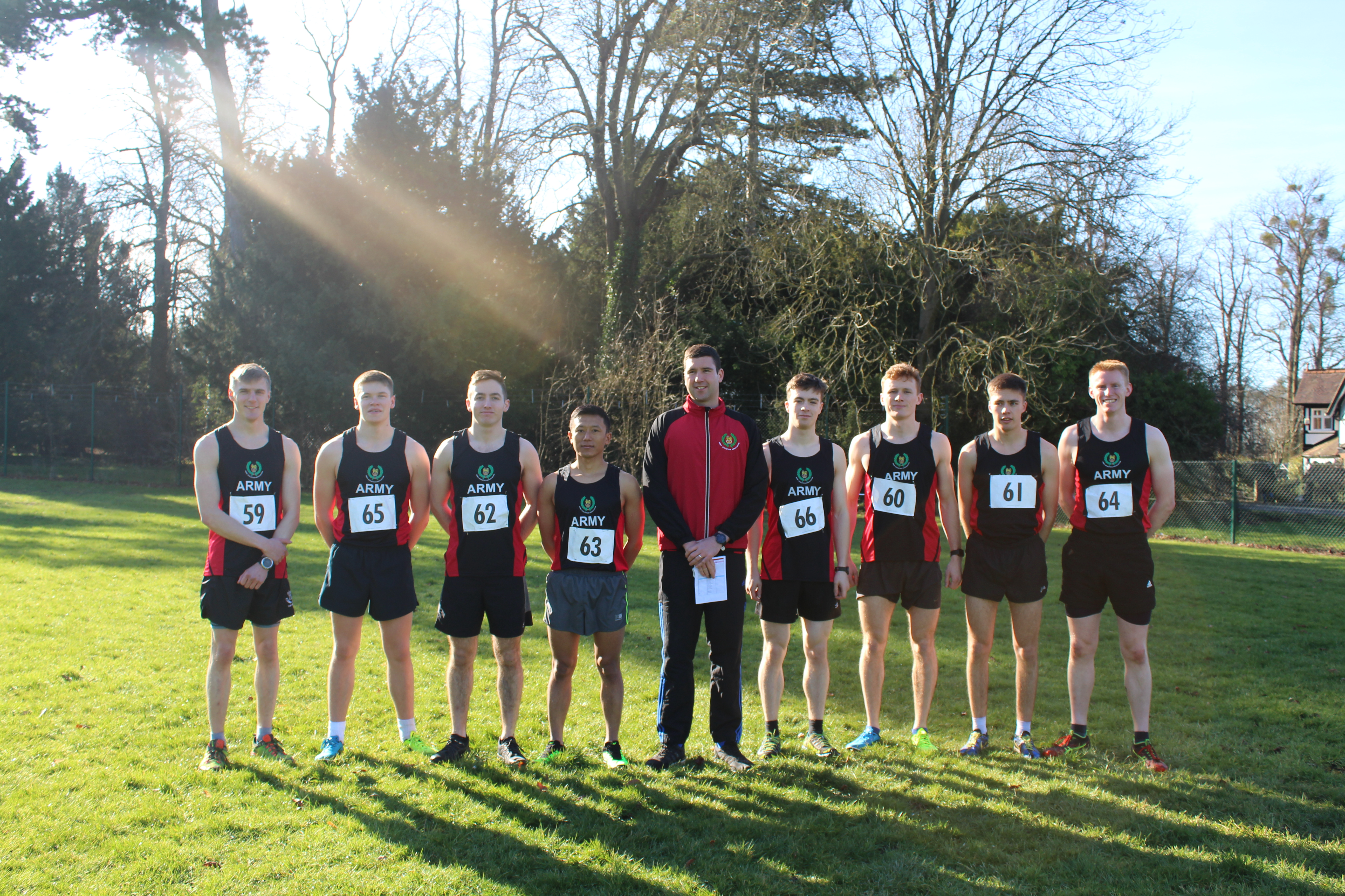 Inter-Services Cross Country Championships Results 2019